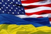 US Ukraine flag